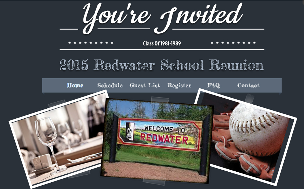 redwater school reunion site