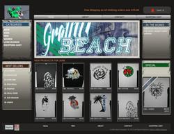 graffit beach design