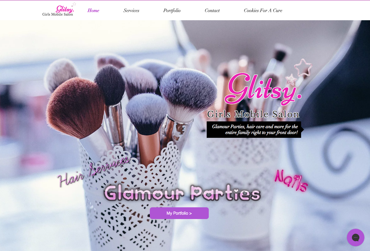 glitsy girls mobile salon