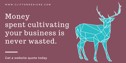 Money spent cultivating your business is never wasted.