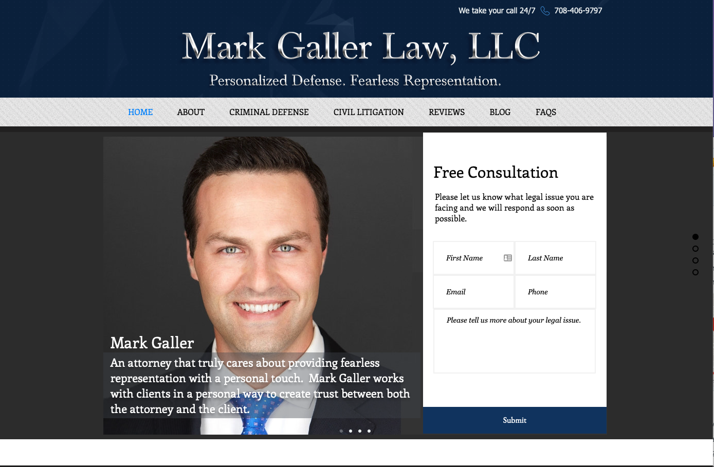 Mark Galler Law