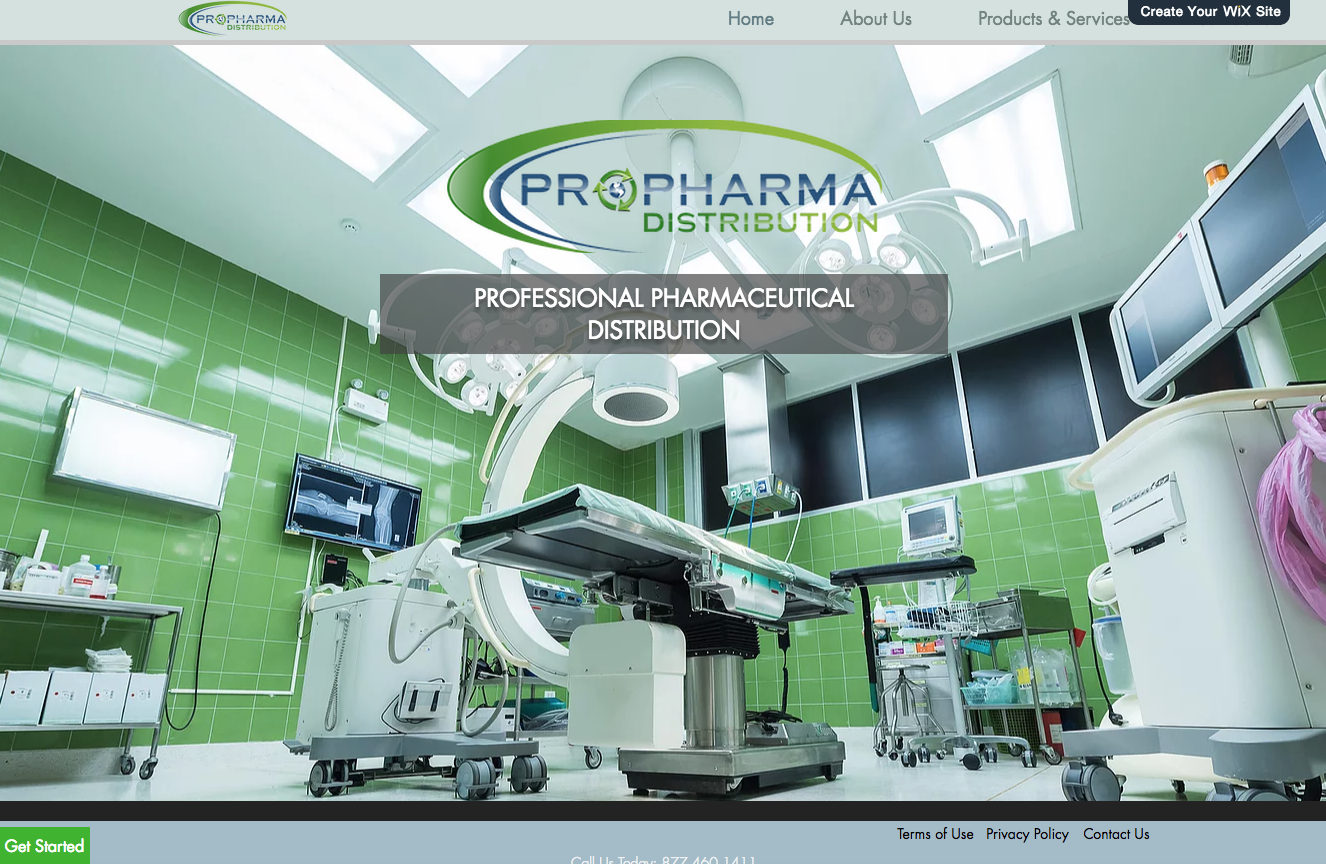 Propharma website