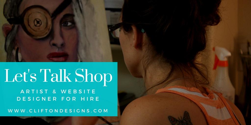 Artist & Web Designer $500