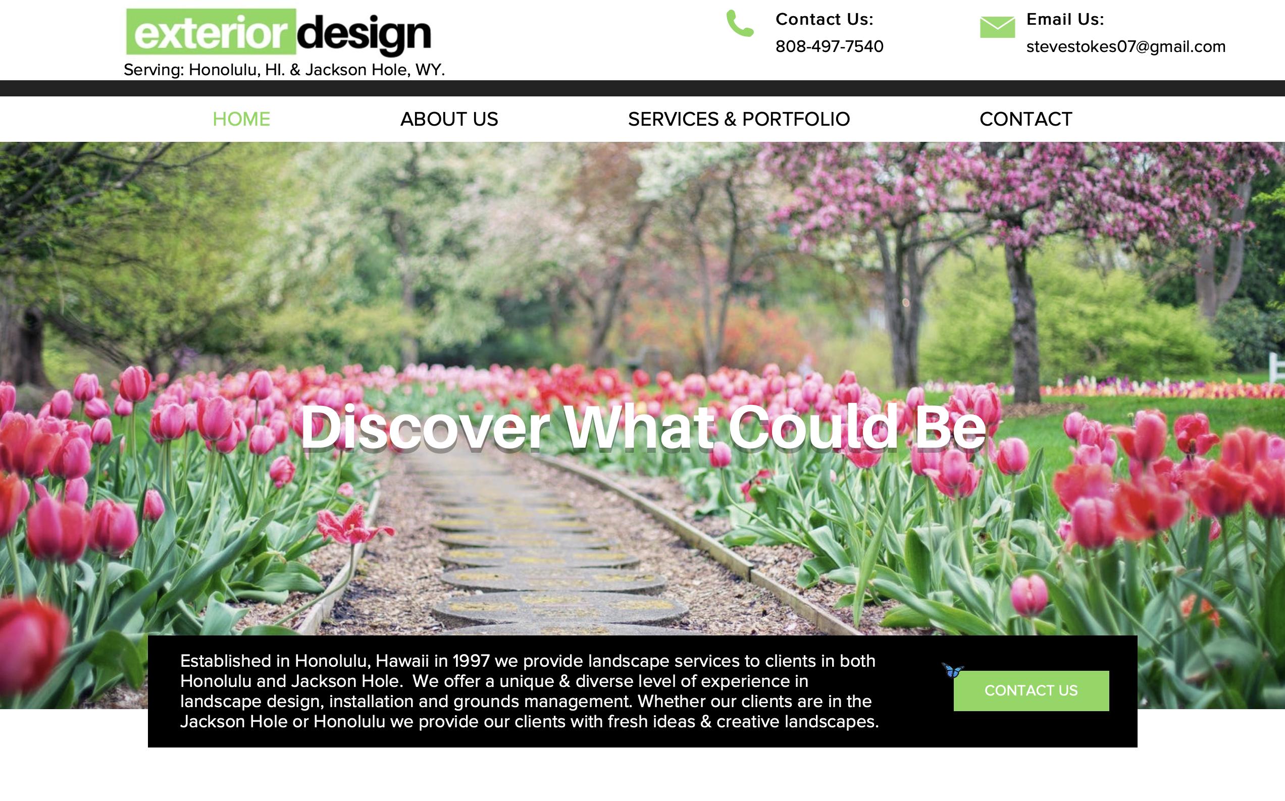 exterior design steve site