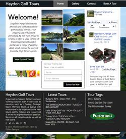 Heydon Golf tours