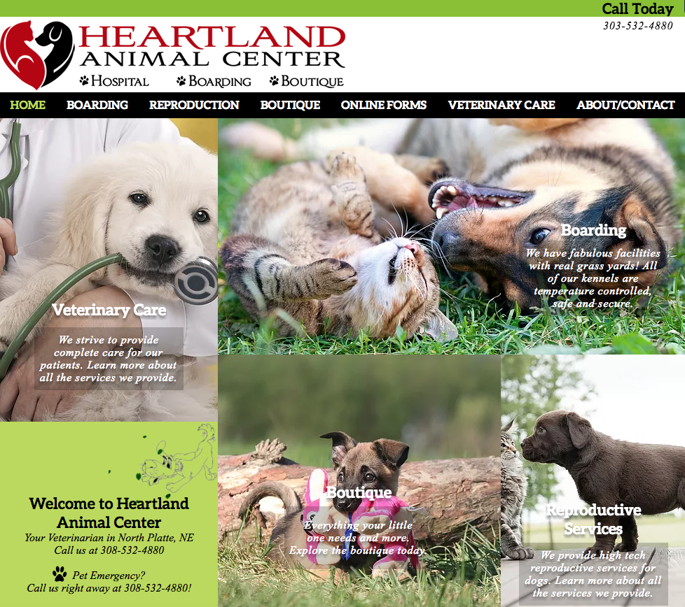 heartland animal center