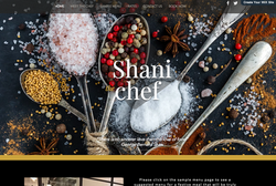 chef site for sale I made but didn't use