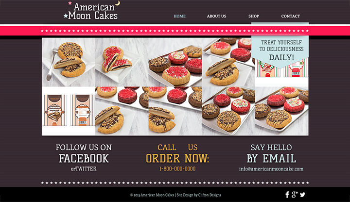 American Moon Cake website