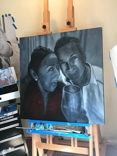 Sandy Clifton Artist and Website Designer - Commission a painting