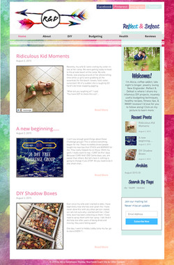 Reflect & Defeat website