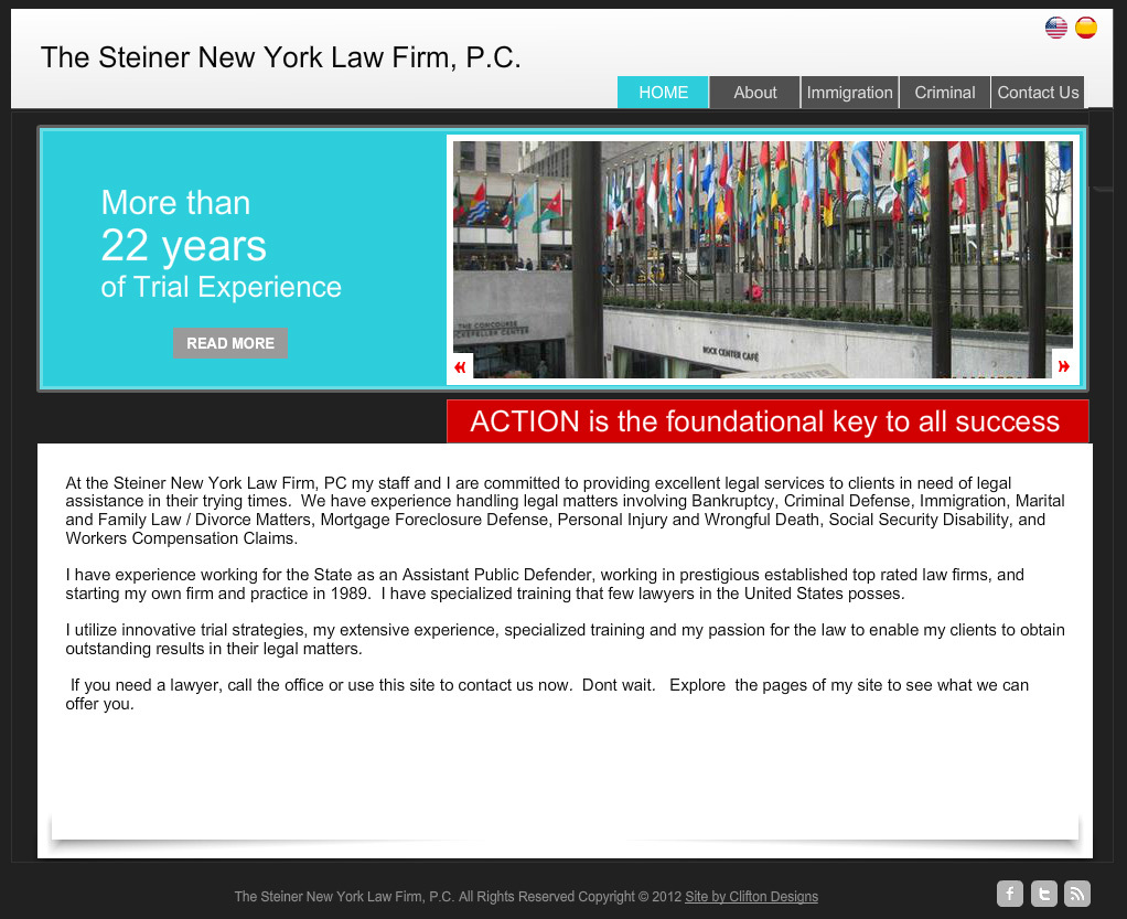 The steiner New York Law Firm
