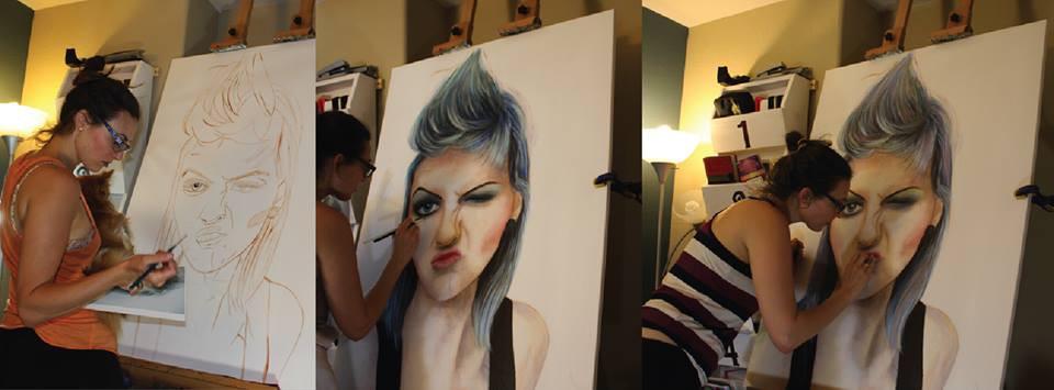 Sandy Clifton Artist and Website Designer