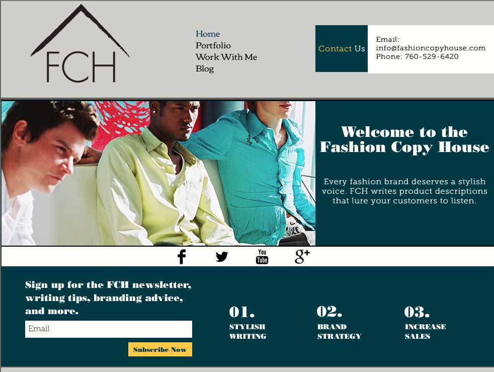 Fashioin Copy HOuse website1