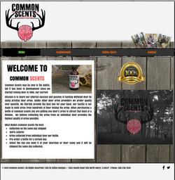 Common Scents website