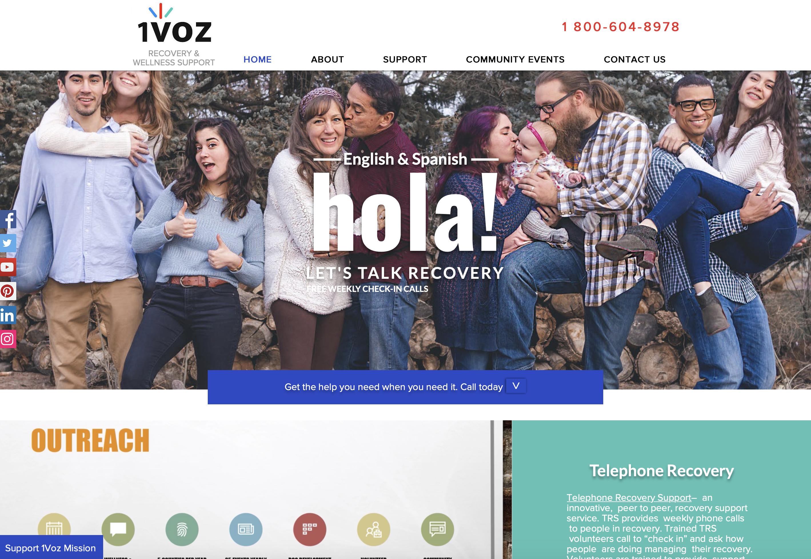 1voz Website