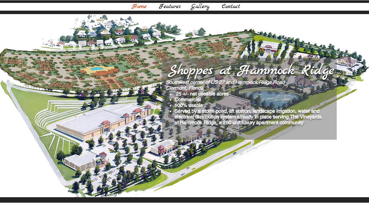 Shoppes at Hammock Ridge Website