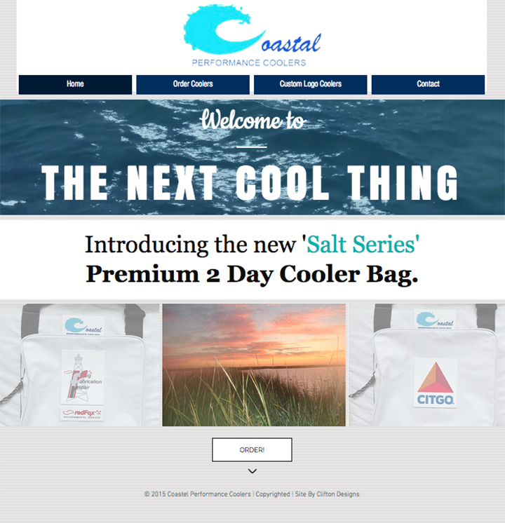 Coastal Cooler Website