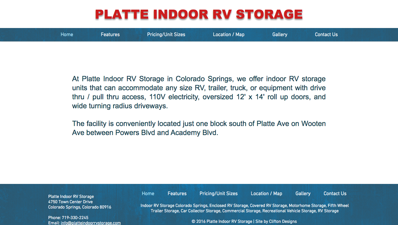Platte Indoor RV & Commercial