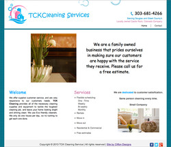 TCK Cleaning Website