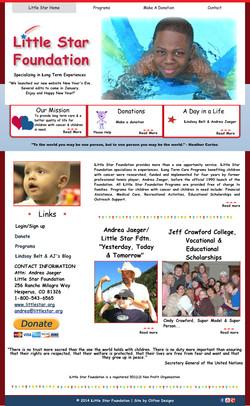 Little Star Foundation Website