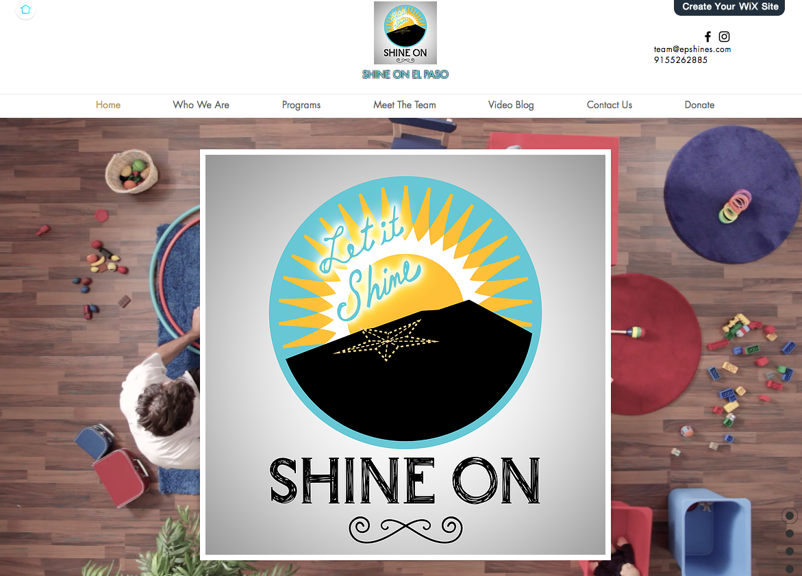 shine on elpaso website