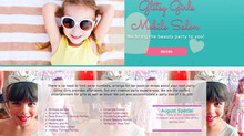 New Website Created - Glitsy Girls Mobile