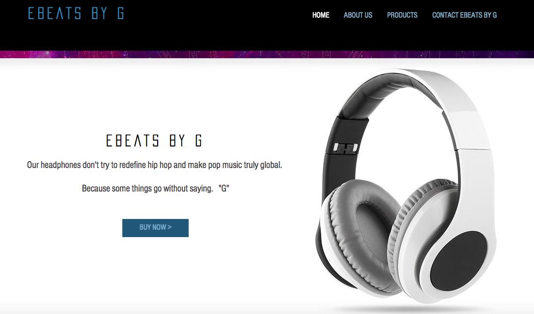 E Beats By G