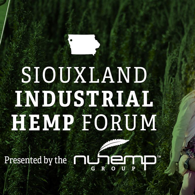Iowa Hemp Forum Saturday April 18th
