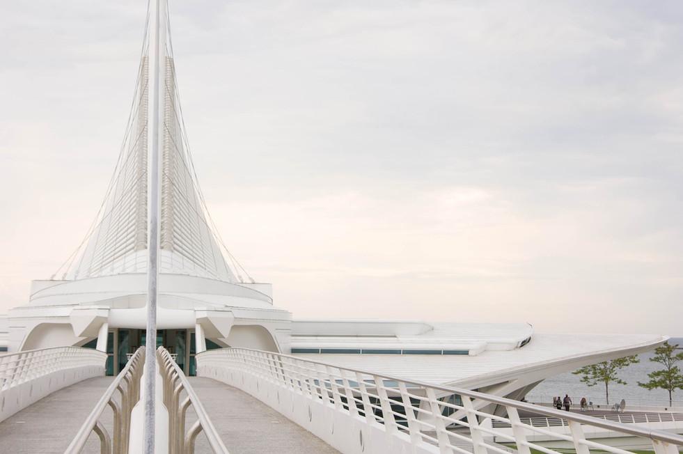 Quadracci Pavilion, Milwaukee Art Museum by Santiago Calatrava.