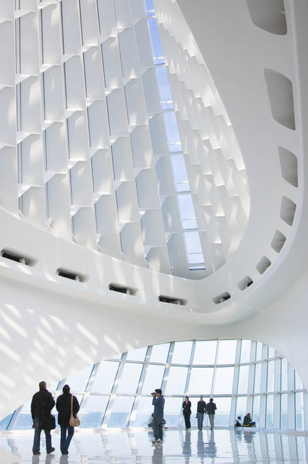 Quadracci Pavilion, Milwaukee Art Museum by Santiago Calatrava.