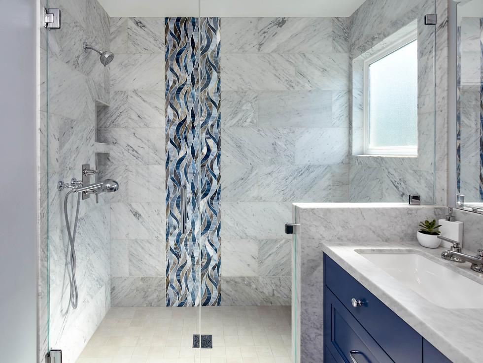 Sunnyvale Master Bath by LCID Interior Design.