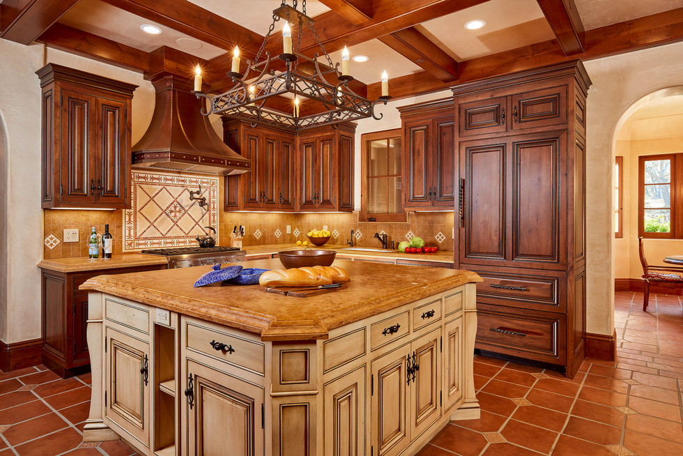 Carmel Valley Kitchen by Eric Miller Architects.*