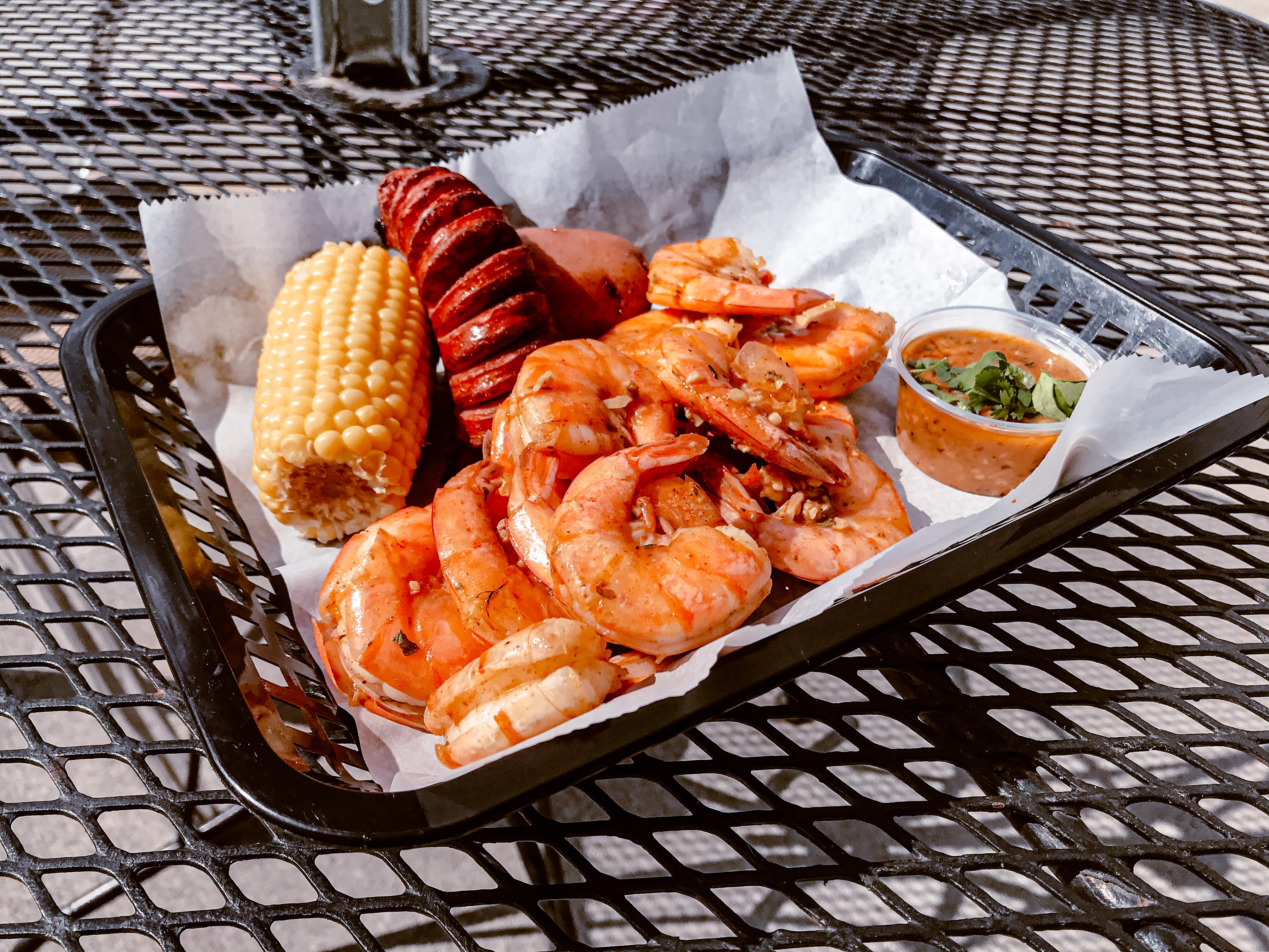 Easy Peasy Shrimp combo