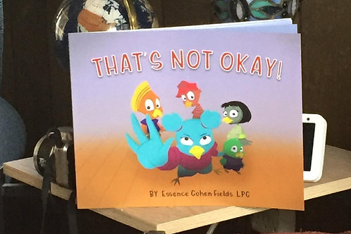 That's Not Okay Book - Signed Physical Copy