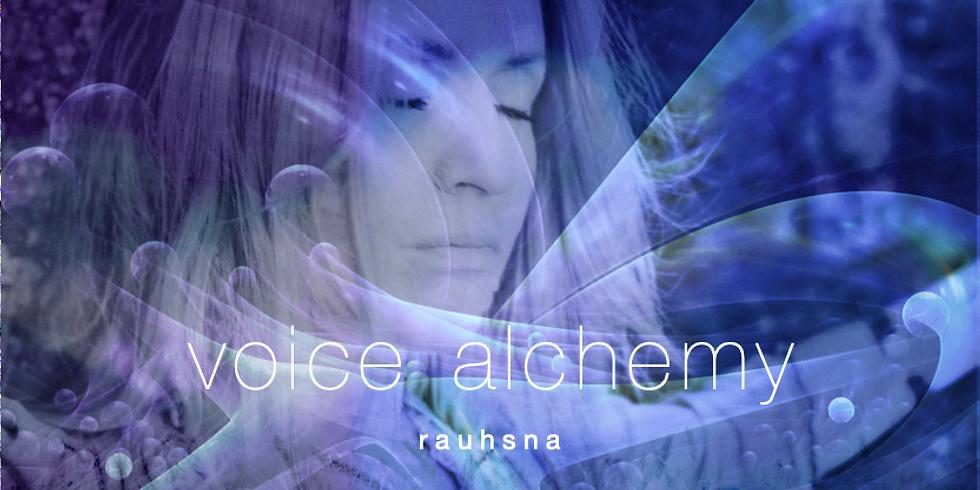 VOICE ALCHEMY - Die heilsame Kraft Deiner wahren Stimme