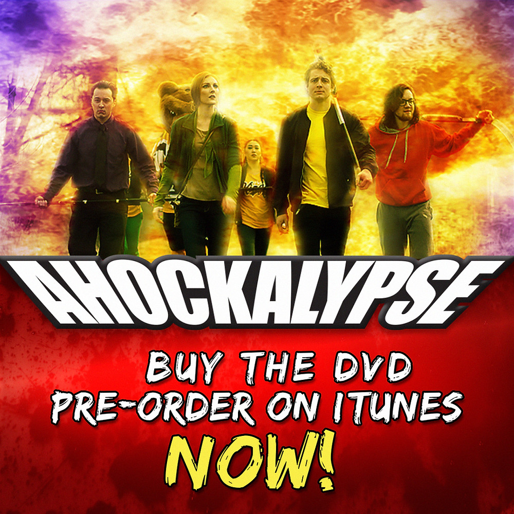 Ahockalypse now available to buy on www.AhockalypseMovie.com or to pre-order on iTunes!