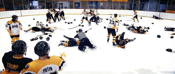 Ahockalype Epic hockey fight