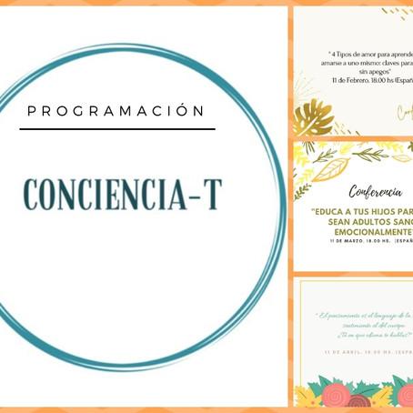 Próximos eventos grupales CONCIENCIA-T