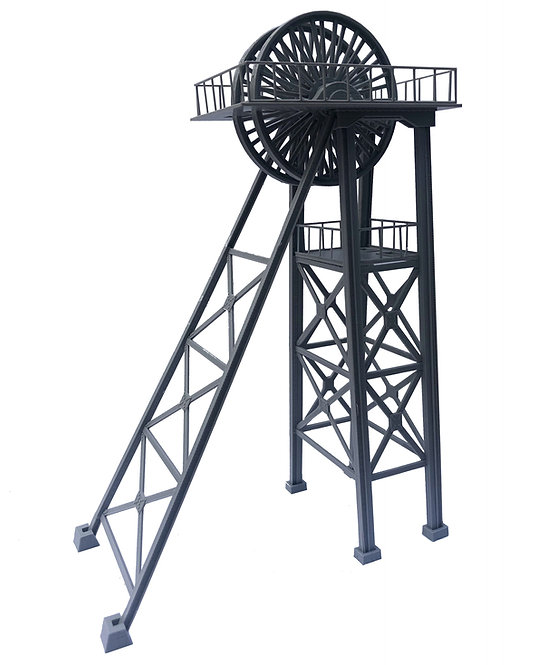 OO Gauge Mining Pit Head Tower