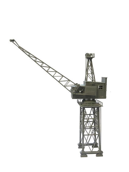 Motorised Vintage London Dock Crane