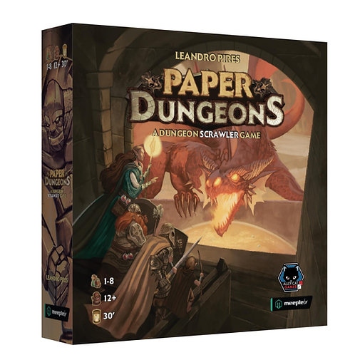 Paper Dungeons (Pre-Order)