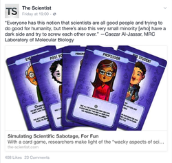 The Scientist's article on Lab Wars