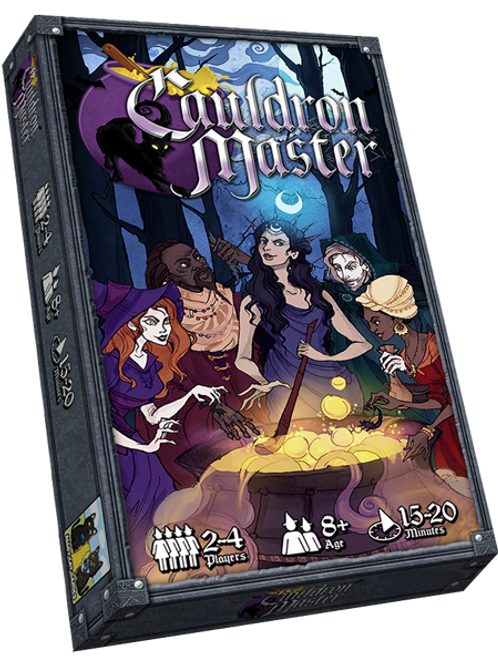 Cauldron Master & Magical Mayhem expansion