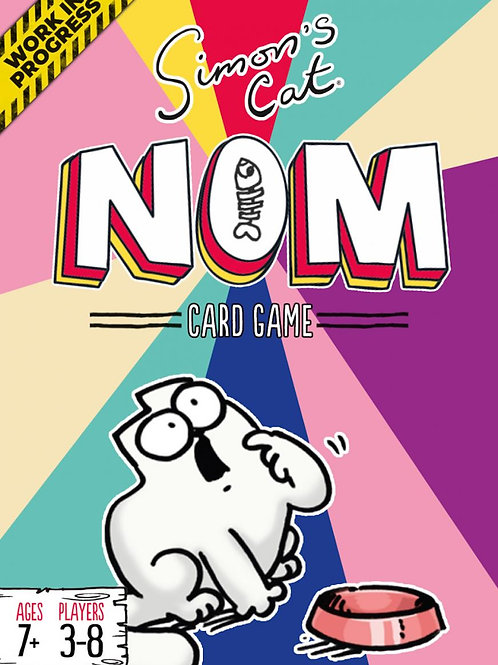 NOM: Simon's Cat - Official Card Game! PREORDER (UK and EU only)