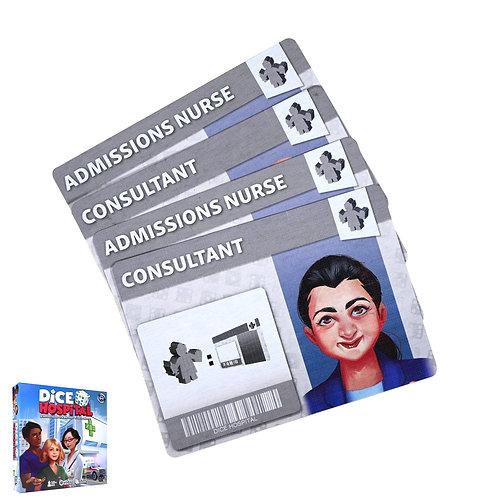 Dice Hospital Specialist Promo Card Bundle