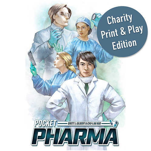 Pocket Pharma - Print and Play Charity Edition