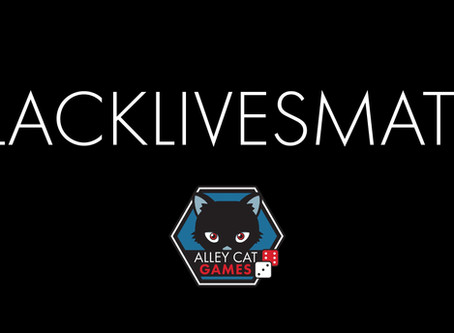 Black Lives Matter and Alley Cat Games planned actions