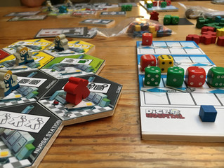 Analysing the quantitative statistics of blind playtesting Dice Hospital