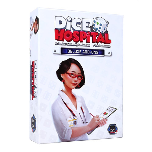 Dice Hospital - Deluxe add-ons pack only (UK/US/EU Only)