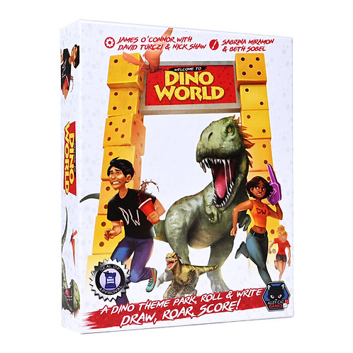 Welcome to DinoWorld - Base game (UK/EU/US Only)